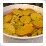 Sunday Brunch… Potatoes and Vegetables Gratin