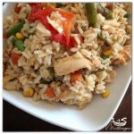 Guyanese Style Stripped Chicken Fried Rice