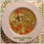Chicken and Split Pea Soup