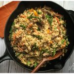 Steak and Asparagus Fried Rice